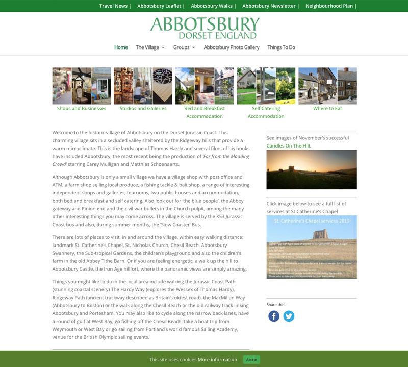 Abbotsbury Village