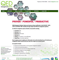QED Management Systems